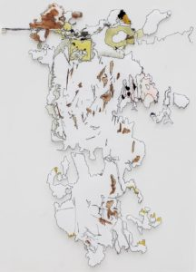 <i>Cow</i> Acrylic paint, 140 x 100 cm, 2010