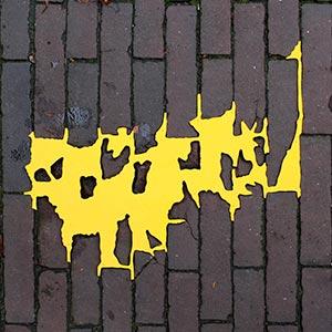 Choorstraat53, Delft, NL<br />2012, 40 x 37 cm