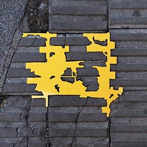 Barcelona Hecomi Map Project<br />Carrer De Ganduxer 109<br />2014, 33.5 x 28.5 cm