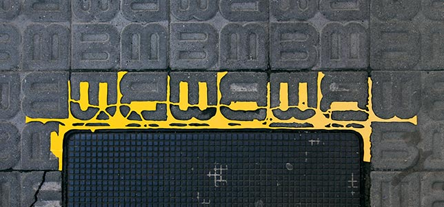 Barcelona Hecomi Map Project<br />Carrer De Ganduxer 130<br />2014, 77.5 x 18 cm