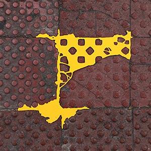 Barcelona Hecomi Map Project<br />Carrer De Mallorca 221/223<br />2014, 27.5 x 28 cm