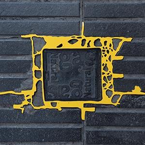 Barcelona Hecomi Map Project<br />Carrer De Valencia 501<br />2014, 34.5 x 22.5 cm