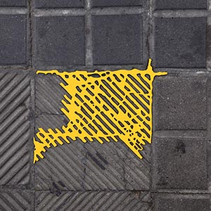 Barcelona Hecomi Map Project<br />Viladomat 172<br />2014, 23 x 19 cm