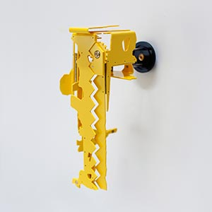 NIU Art Museum, DeKalb, Illinois, USA #1<br />Compressed PVC, Steel, Brass, Hinges<br />11 x 23 x 14 cm, 2016<br /><br />